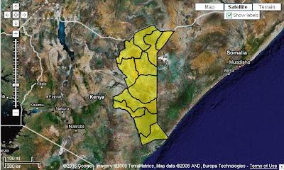 NEP Kenya Map