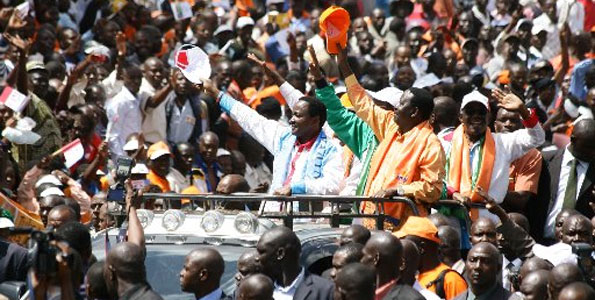 Raila and Musyoka