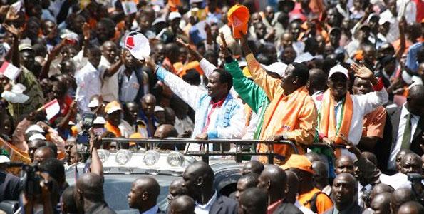 Raila and Musyoka