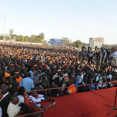 Raila and Cord In Nakuru