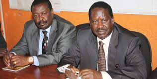 Mudavadi and Raila(2)