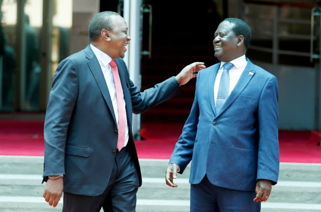 Uhuru and Raila(3)