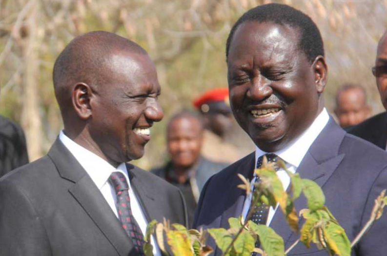 Ruto and Raila(3)